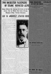 Rochester victims Titanic 17 april 1912