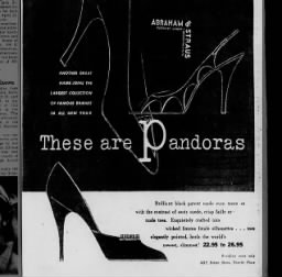 1953 - Stilettos.  Everything old is new again...