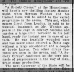 The BrooklynDaily Eagle (Brooklyn, New York), 21/10/1906