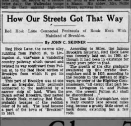 how our streets got that way 4/30/29