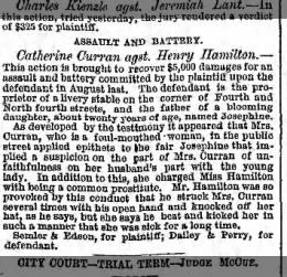 Catherine Curran-Assault
