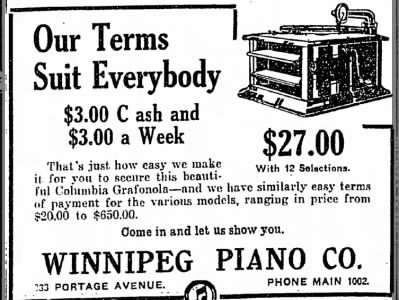 Grafonola Ad - July 28, 1915