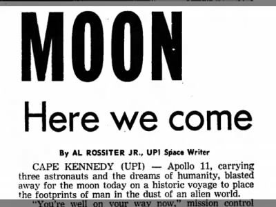 Moon, Here We Come