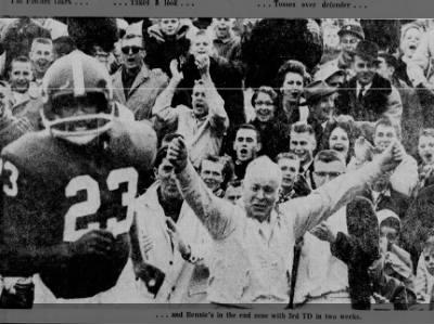 1960 Nebraska-Army football, Bennie Dillard TD