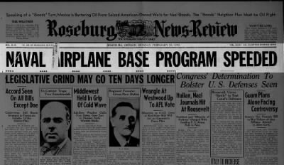 Naval Airplane Base Program Speeded