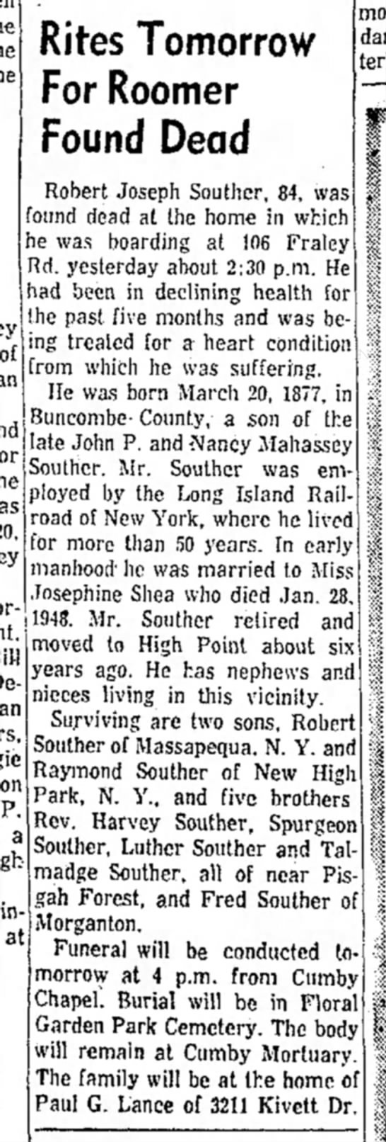 Robert Joseph Souther