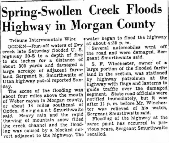 SF Winchester farm floodsApril 6, 1942Salt Lake Tribune