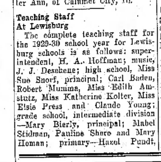 Ruth Bandtel part 1 for Aug.23,1929, Journal News p.4