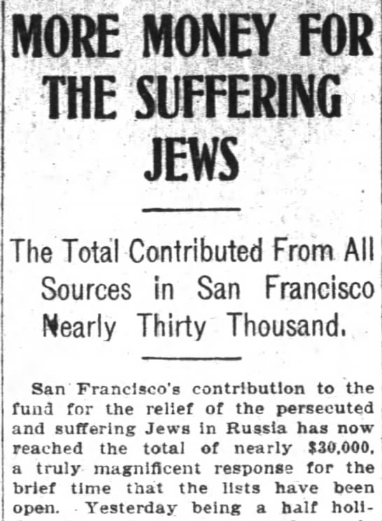 Hyman Kahn contributing to Russian Jews