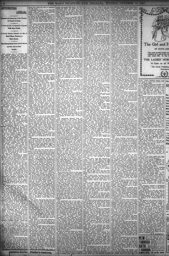 The Times-Picayune (New Orleans) Oct. 14, 1895