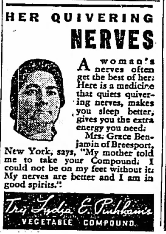 Quivering Nerves Cured03-25-1935