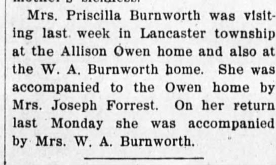 Burnworth 12 july 1906