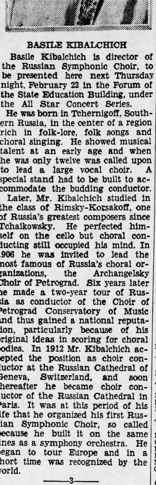 Kibalchich in Harrisburg, Pensylvania, Feb. 15, 1934