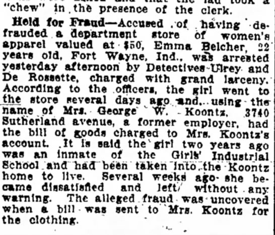 Mrs. George W. Koontz