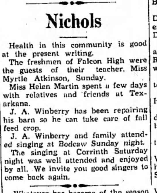 Winberry HS11 Aug 1931 p2