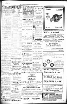 The Daily Deadwood Pioneer-Times from Deadwood, South Dakota on November 9, 1900 · Page 3