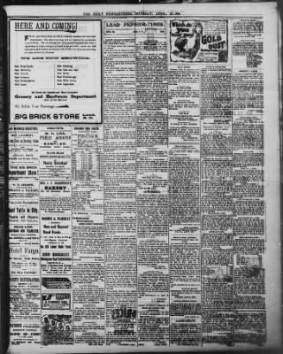 The Daily Deadwood Pioneer-Times from Deadwood, South Dakota on April 28, 1898 · Page 3