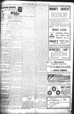 The Daily Deadwood Pioneer-Times from Deadwood, South Dakota on July 21, 1899 · Page 5