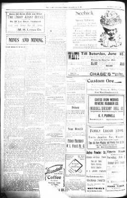 The Daily Deadwood Pioneer-Times from Deadwood, South Dakota on June 30, 1900 · Page 4