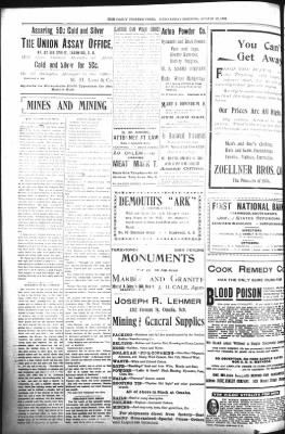 The Daily Deadwood Pioneer-Times from Deadwood, South Dakota on August 23, 1899 · Page 4
