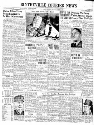 The Courier News from Blytheville, Arkansas on April 6, 1940 · Page 1