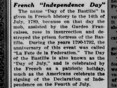 French Independence Day