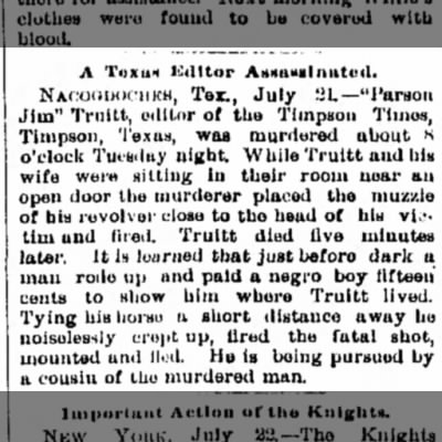 Freeport Journal-Standard (Freeport, Illinois) July 22, 1886