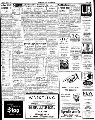 The Courier News from Blytheville, Arkansas on July 1, 1949 · Page 9