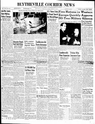 The Courier News from Blytheville, Arkansas on March 12, 1948 · Page 1