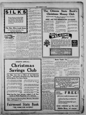 The Fairmount News from Fairmount, Indiana on December 8, 1921 · Page 8