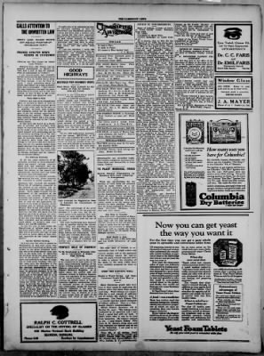 The Fairmount News from Fairmount, Indiana on March 27, 1922 · Page 3