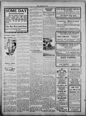 The Fairmount News from Fairmount, Indiana on May 1, 1922 · Page 4