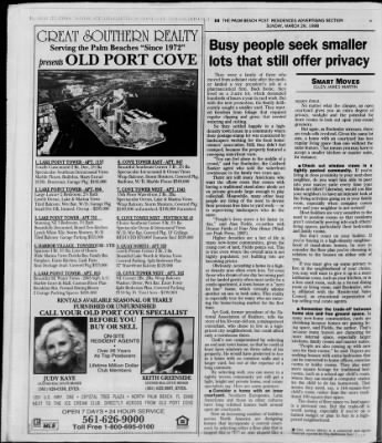 The Palm Beach Post from West Palm Beach, Florida on March 29, 1998 · Page 343