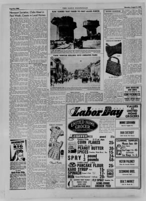 The Daily Clintonian from Clinton, Indiana on August 31, 1944 · Page 10