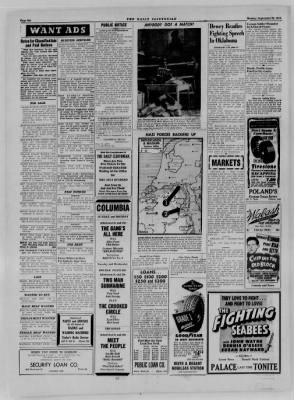 The Daily Clintonian from Clinton, Indiana on September 25, 1944 · Page 6
