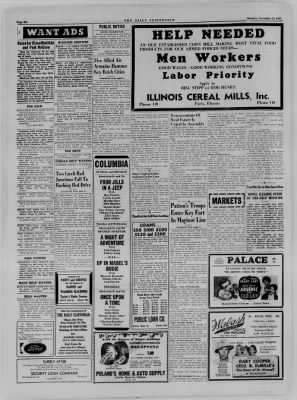 The Daily Clintonian from Clinton, Indiana on November 27, 1944 · Page 6