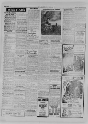 The Daily Clintonian from Clinton, Indiana on December 14, 1944 · Page 8