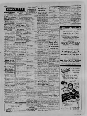 The Daily Clintonian from Clinton, Indiana on January 6, 1945 · Page 6