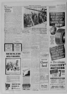 The Daily Clintonian from Clinton, Indiana on January 10, 1945 · Page 2