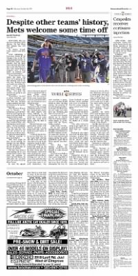 Democrat and Chronicle from Rochester, New York on October 24, 2015 · Page D6