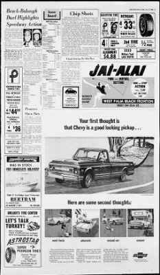 The Palm Beach Post from West Palm Beach, Florida on November 22, 1968 · Page 27