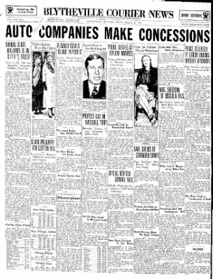 The Courier News from Blytheville, Arkansas on March 23, 1934 · Page 1