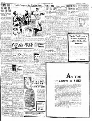 The Courier News from Blytheville, Arkansas on March 29, 1934 · Page 6