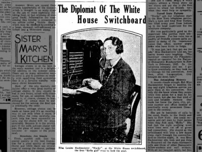 Diplomat of the White House Switchboard