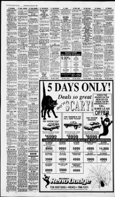 reno gazette journal from reno nevada on 30 1991 middot reno gazette journal from reno nevada on 30 1991 middot page 24