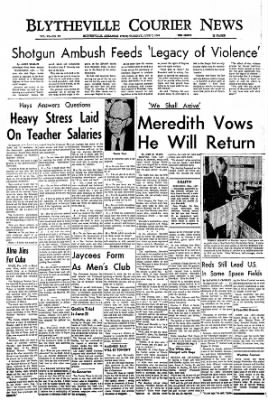 The Courier News from Blytheville, Arkansas on June 7, 1966 · Page 1