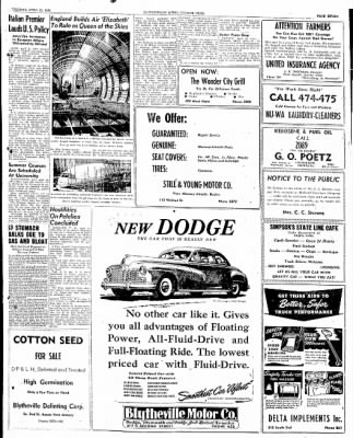 The Courier News from Blytheville, Arkansas on April 22, 1947 · Page 7
