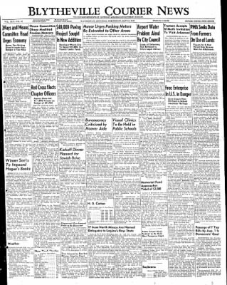 The Courier News from Blytheville, Arkansas on May 11, 1949 · Page 1