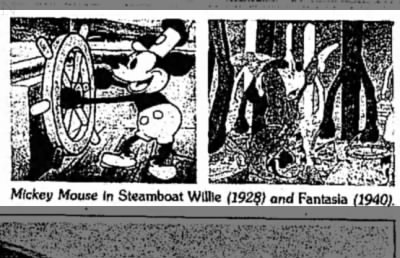 Mickey Mouse in Steamboat Willie