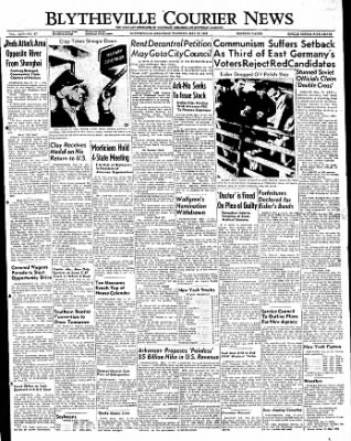 The Courier News from Blytheville, Arkansas on May 17, 1949 · Page 1